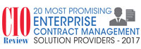 20 Most Promising Enterprise Contract Management Solution Providers - 2017